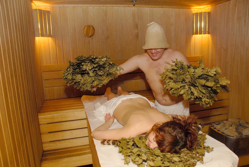 парная русская баня