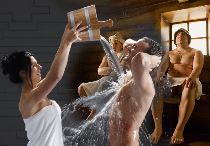 Голый секс общественной бане видео будите