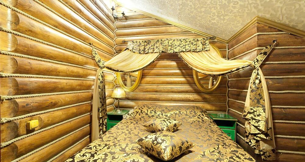 спальня в бане Contry Club