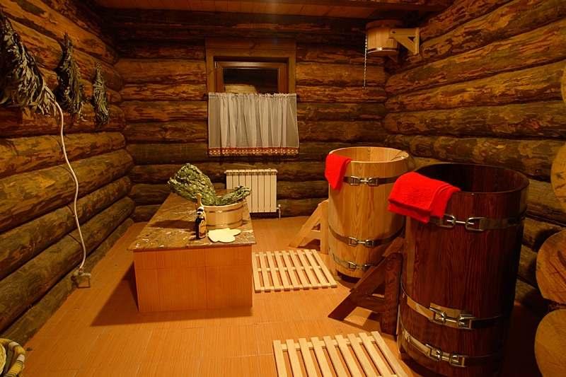 традиционная баня