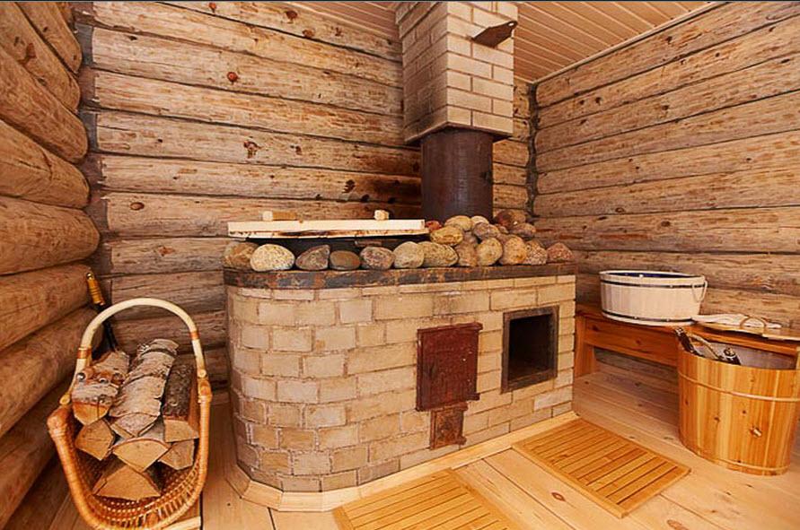 бревенчатая баня